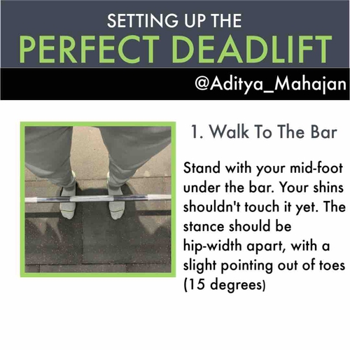 Step-By-Step Instructions For A Perfect Deadlift