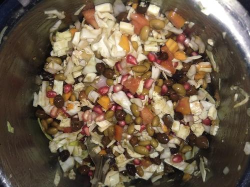 soya - paneer salad