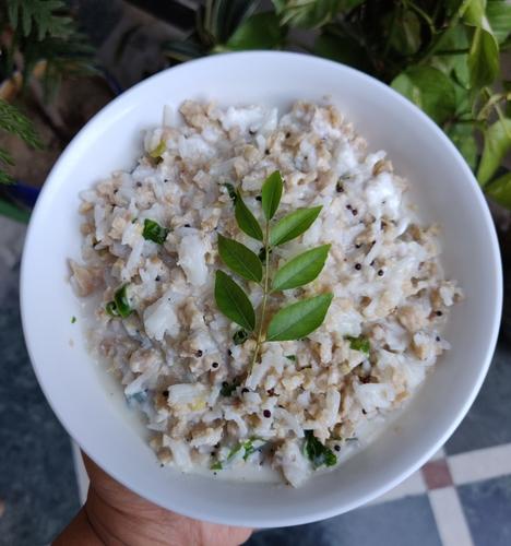 Soyabean Curd Rice