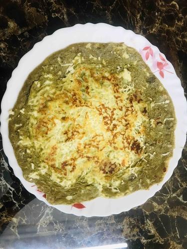 Protein rich spinach chilla