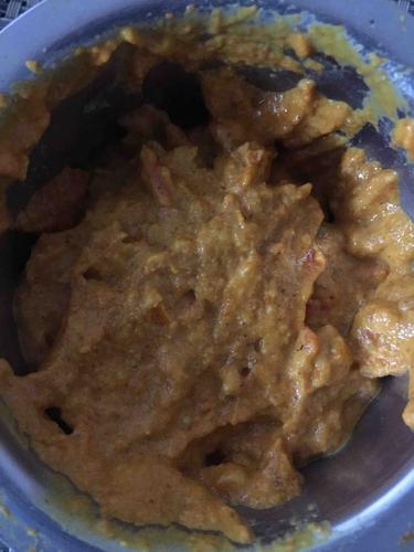 No oil tomato garlic chutney