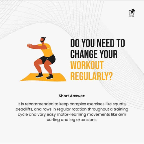Do You Need To Change Your Workout Regularly?