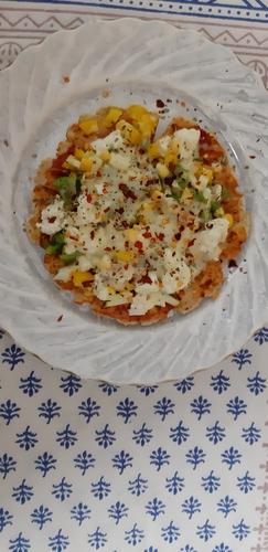 soya flour pizza