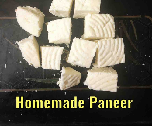 Homemade Paneer (Cottage Cheese)