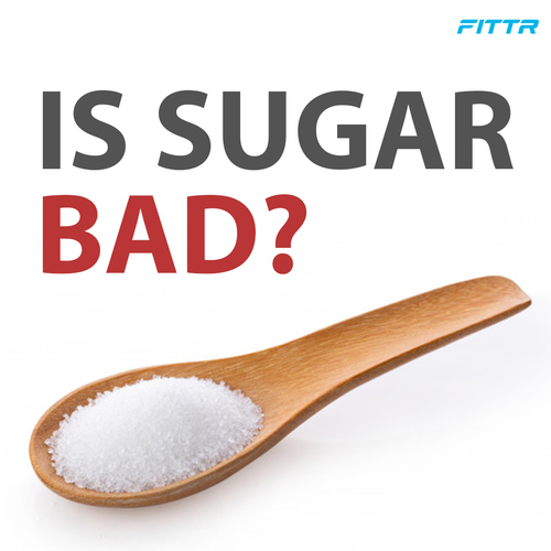 People often cut out sugar completely from their diets. Is it really that harmful?