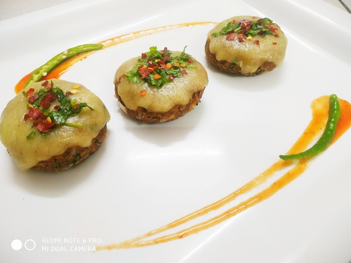 Cheesy Soya Cutlets