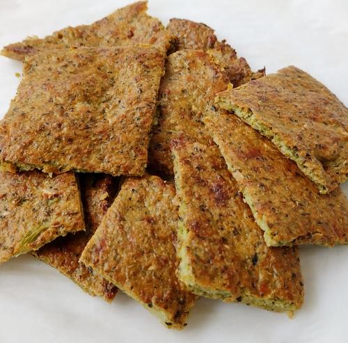 Broccoli Crackers