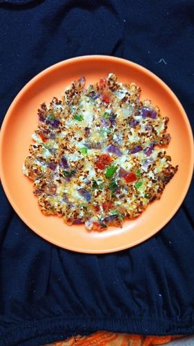 oats Suji Veggies Chilla