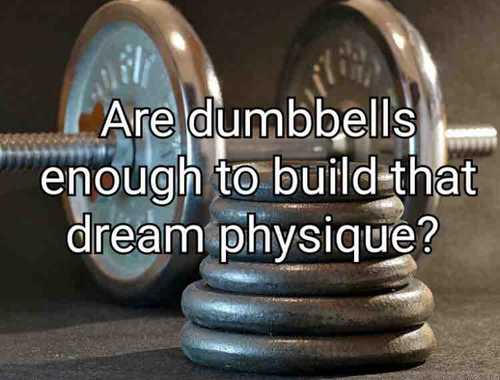 Get Ripped at Home with Dumbbells