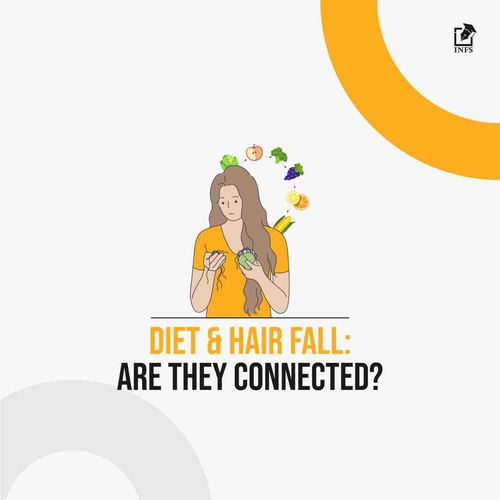 Diet & Hair Fall: Are They Connected?