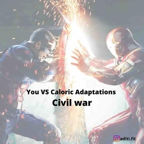 Minimising caloric adaptations for effective fat loss