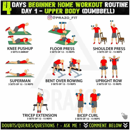FREE HOME WORKOUT PLAN