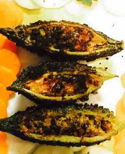 Bharwa Karela / Stuffed Bitter Melon