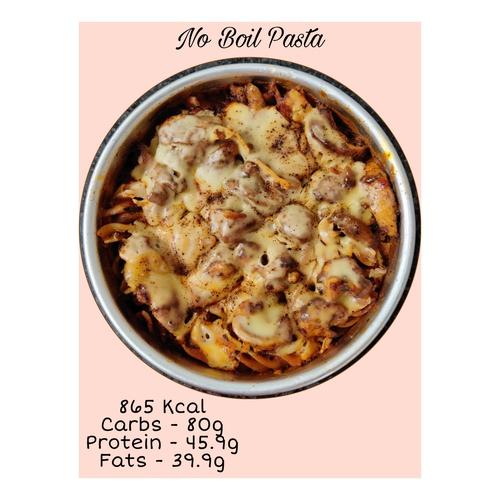 No Boil Chicken Pasta