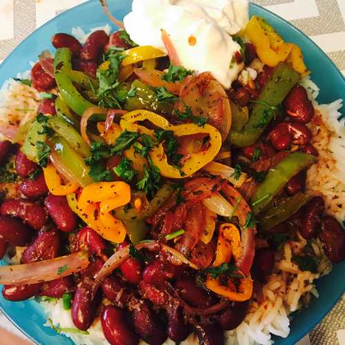 Mexican veg bowl