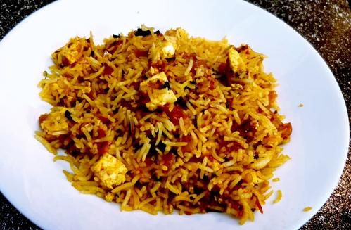 Paneer Tomato Rice