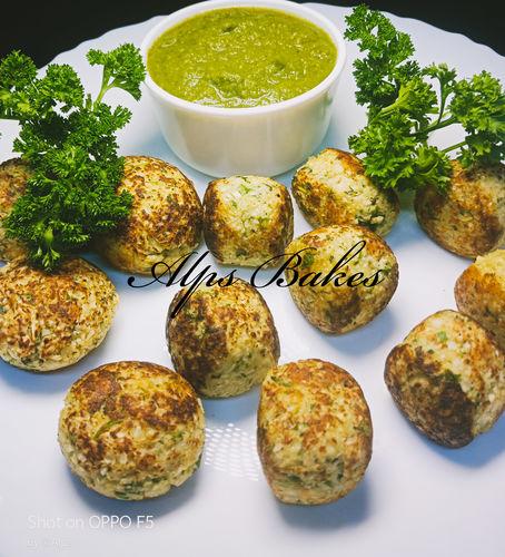 cauliflower Appam or Tots