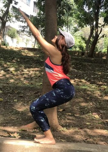 Yoga with Dr. Prajakta – Utkatasana (Chair Pose)