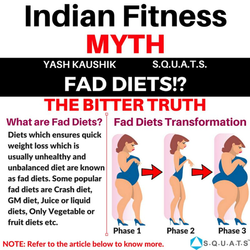 Indian fitness myth