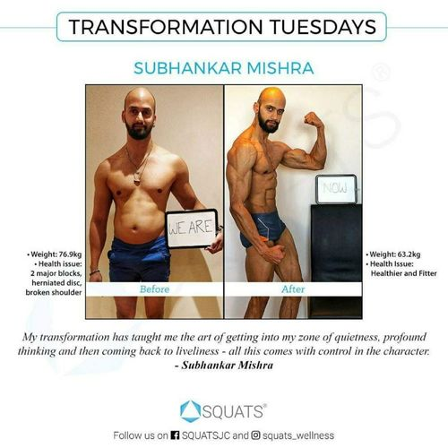 Check out Subhankar Mishra's Transformation Story