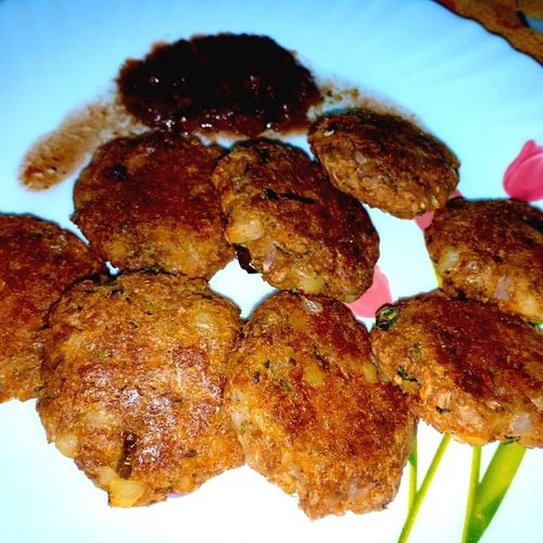 Baked Soya Kababs