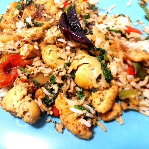 chicken Veggies Rice