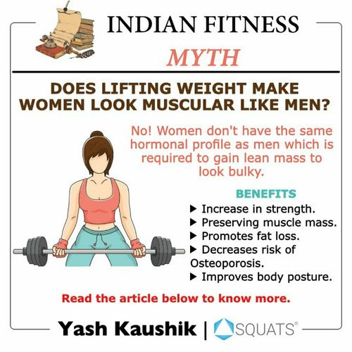 Indian fitness myths!