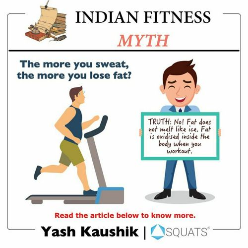Indian fitness myths