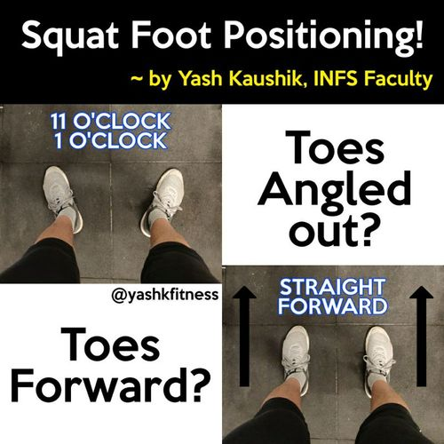 Exercise science: Squats: Foot Positioning! 🏋️‍♂️🏋️‍♂️