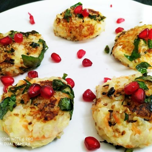 Curd Rice Cutlets