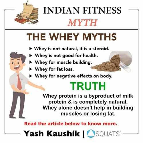 Indian fitness myths: The whey protein myths 👈