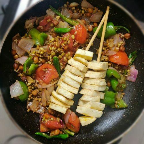 Paneer veggies