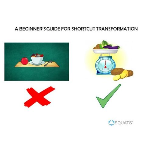 A Beginner's guide for shortcut transformation.