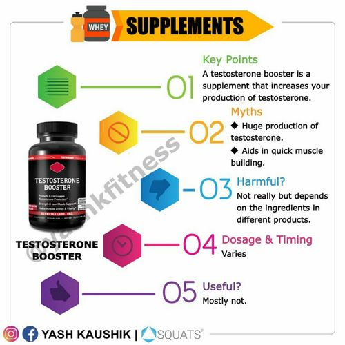 Supplements: Testosterone booster 🔥🔥