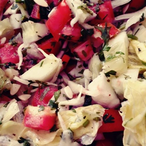 Refreshing Iceberg lettuce-Dill-Paneer Salad 🥗