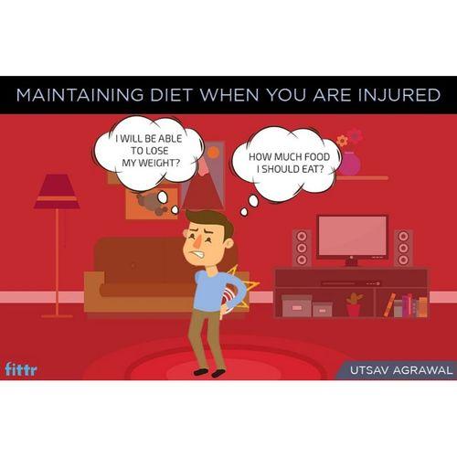 Maintaining diet in injury