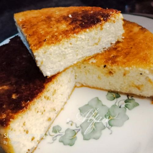 Chhena Poda/Cottage Cheese Cake