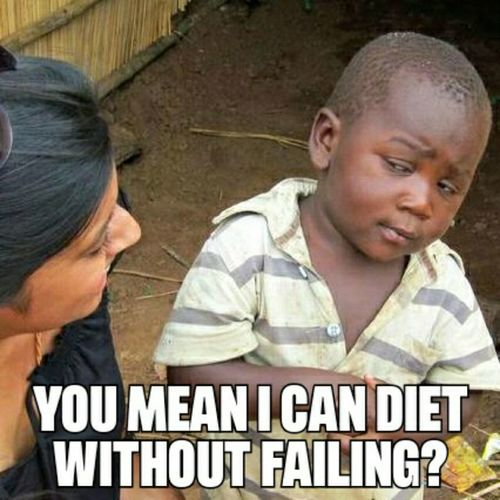 Why do diets fail?