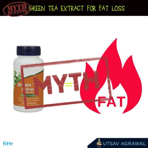 myth busting - green tea extracts