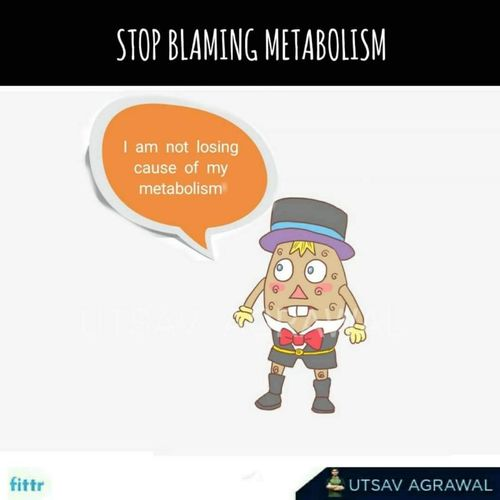 Stop blaming metabolism