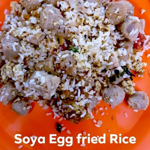 Soya Egg Fried Rice