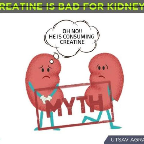 Myth busting :Creatine is bad for kidney