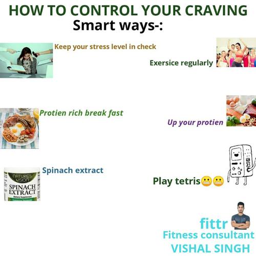 ||How to manage craving||
