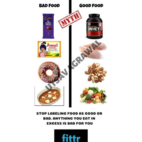 Stop labelling food