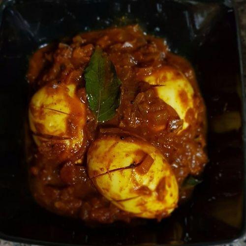 Egg Roast Kerala Style