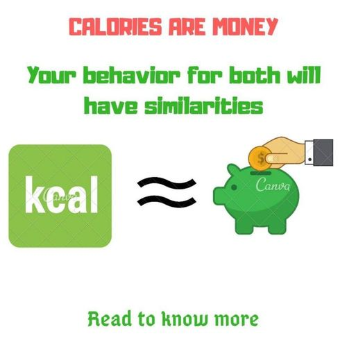 CALORIES ARE MONEY : Do you need to follow the diet chart forever?