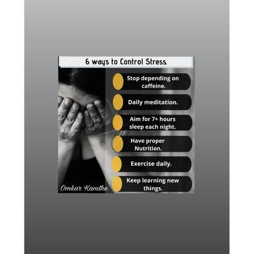 6 WAYS TO CONTROL STRESS 🤯