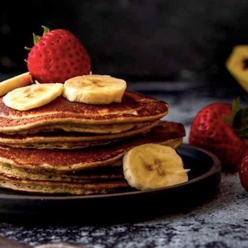 High Protein Banana Pancake