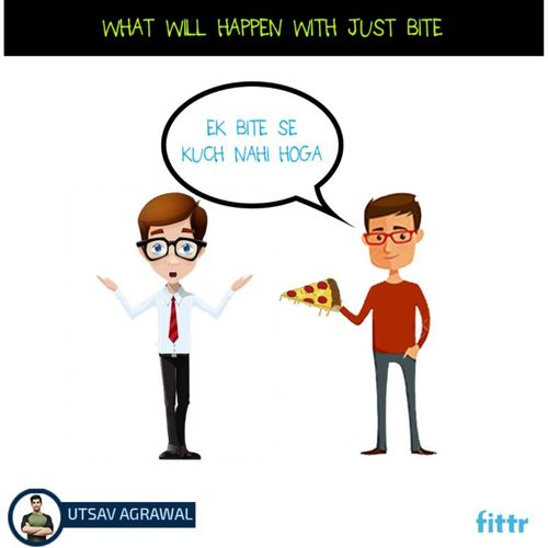 What will happen with just one bite