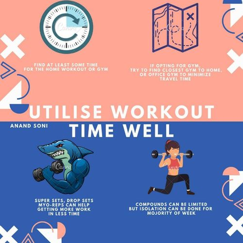 UTLIZE WORKOUT TIME WELL